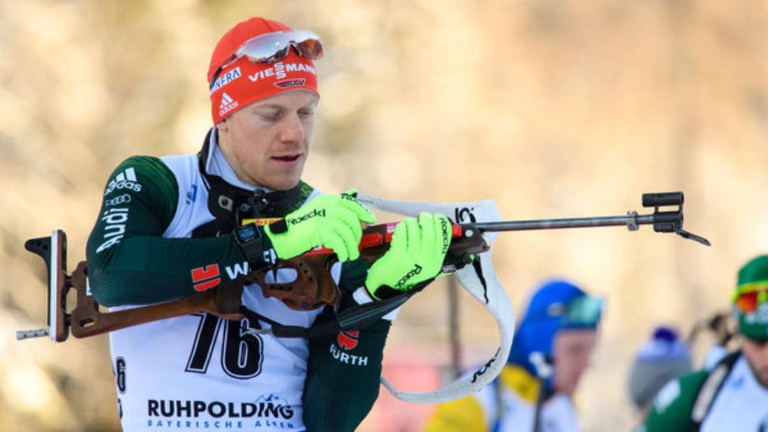 Biathlon-Weltcup Roman Rees