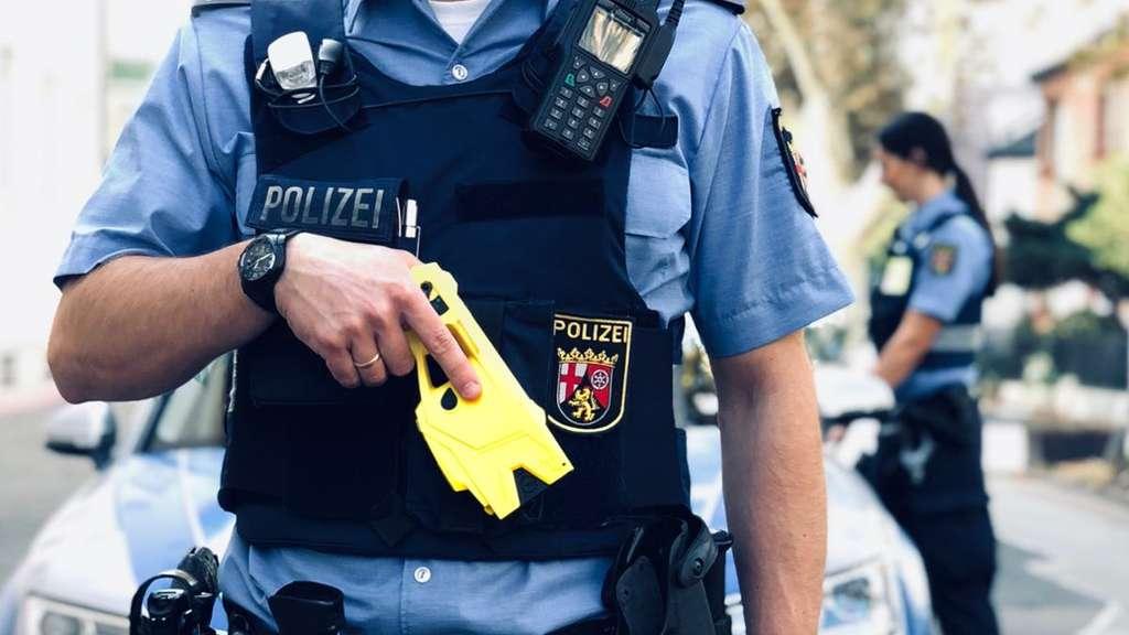 Elektroschocker Polizei
