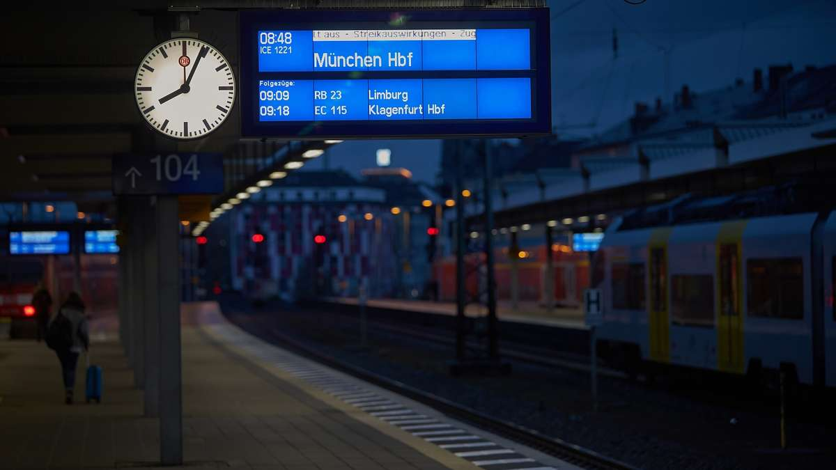 Bahn Streik Ende