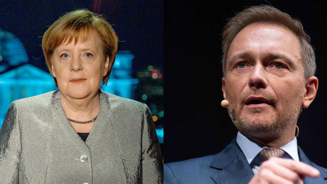 Angela Merkel (CDU) Nachfolge: Christian Lindner (FDP) fordert Rücktritt von Kanzlerin