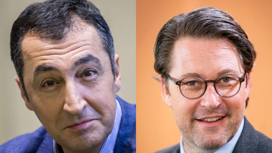 Abgas-Skandal: Özdemir (Grüne) kritisiert Andreas Scheuer (CSU) und Paul Zemiak (CDU)