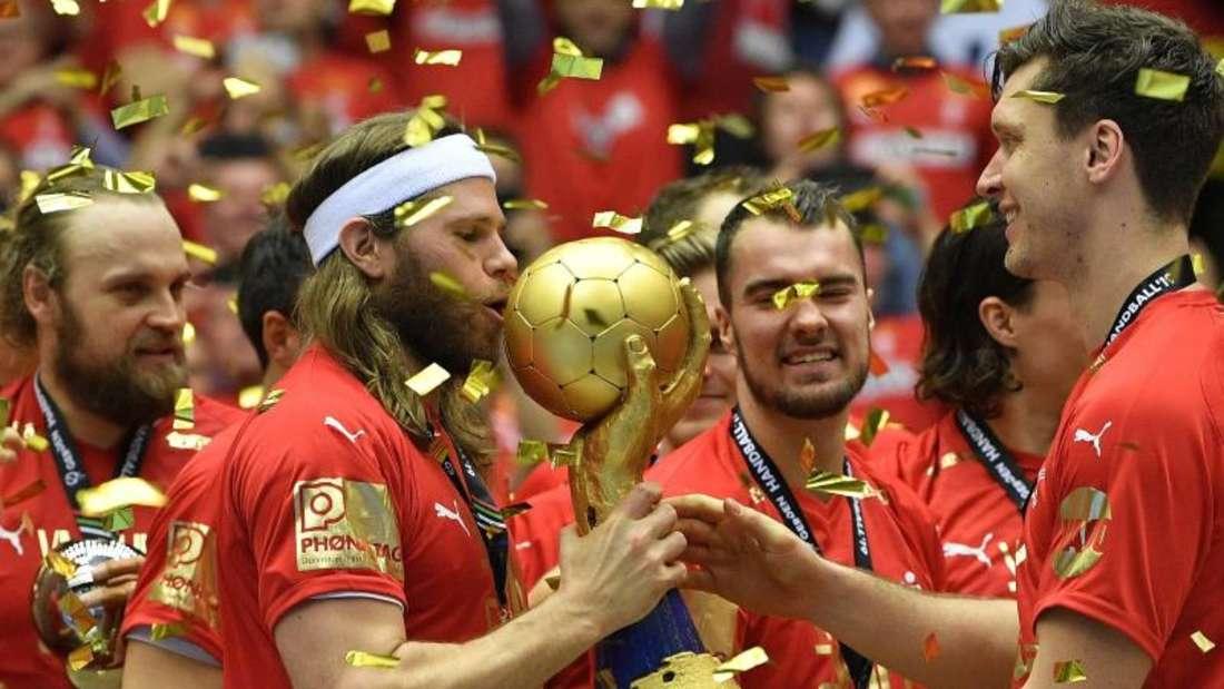 Dänemark wurde vor eigenem Publikum Handball-Weltmeister. Foto: Martin Meissner/AP