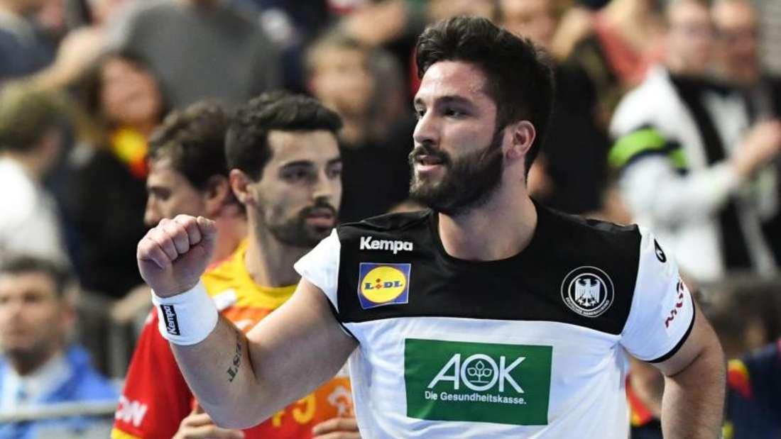 Tim Suton ist derzeit der einzige deutsche Handball-Nationalspieler mit Migrationshintergrund. Foto: Federico Gambarini