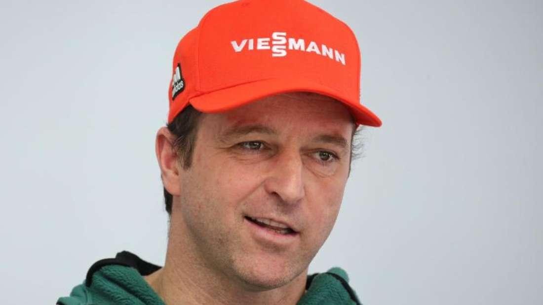 Werner Schuster, Bundestrainer der deutschen Skispringer, gibt seinen Abschied bekanant. Foto:Karl-Josef Hildenbrand
