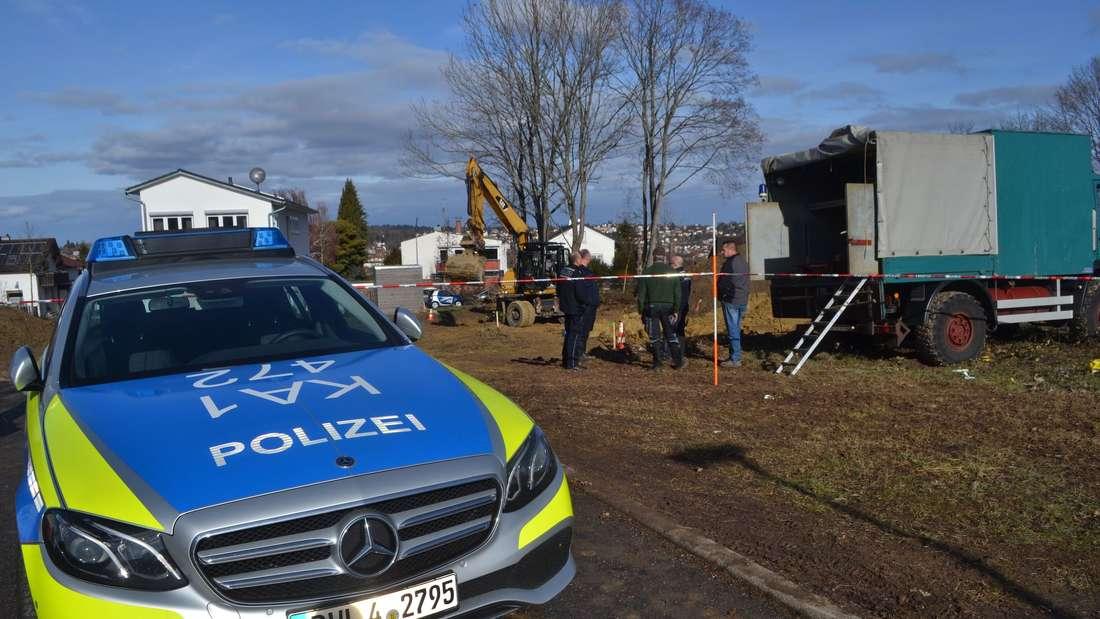 Fliegerbombe in Pforzheim gefunden