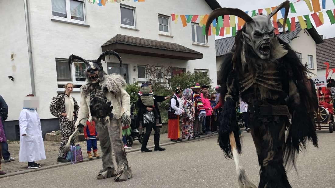 Karnevalsumzug in Hambrücken 2019