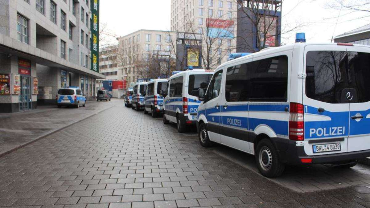 Mannheim/Ludwigshafen: Razzia mit 600 Polizisten gegen ...