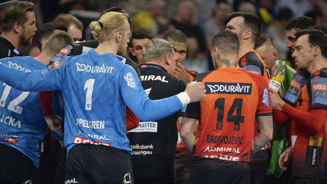 Die Rhein-Neckar Löwen schlagen den HBC Nantes.