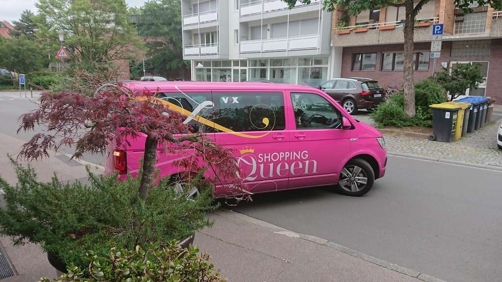 Shopping Queen-Bus in Heidelberg-Rohrbach gesichtet.