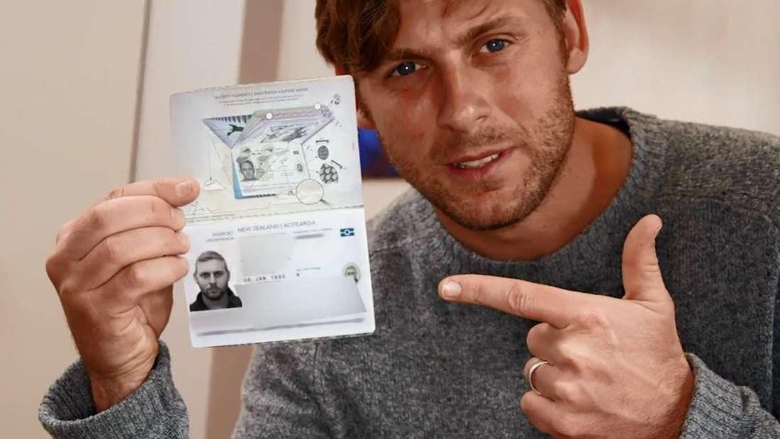 Sein neuseeländischer Pass soll den endgültigen Beweis über sein Alter liefern.