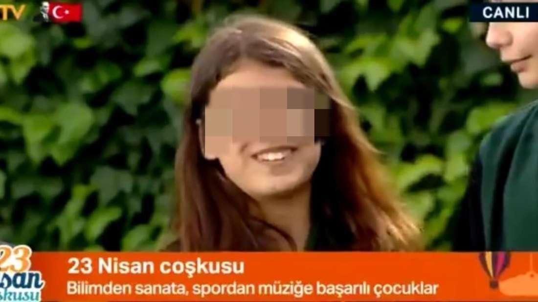Arife im türkischen Fernsehen (Screenshot)