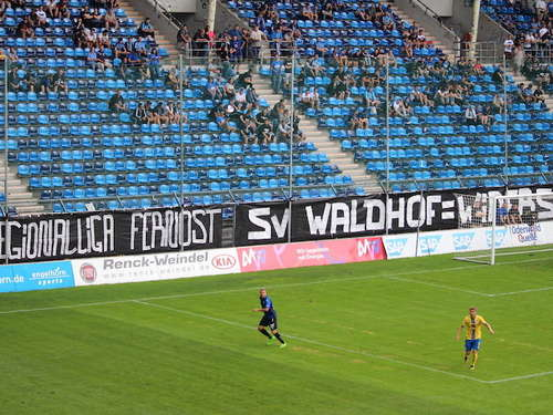 """China-Protest"": Pro Waldhof spendet fast 11.000 Euro an den SVW!"