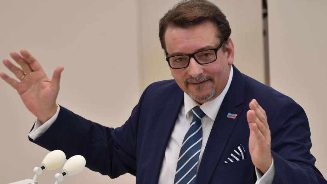 Der bisher zur AfD gehörende Brandenburger Landtagsabgeordnete Sven Schröder verlässt die Partei. Foto: Bernd Settnik