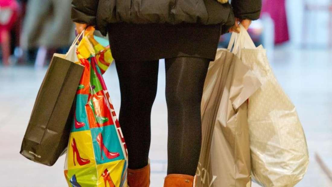 Die Konsumlaune der Bundesbürger ist nach wie vor sehr ausgeprägt. Foto: Sebastian Kahnert
