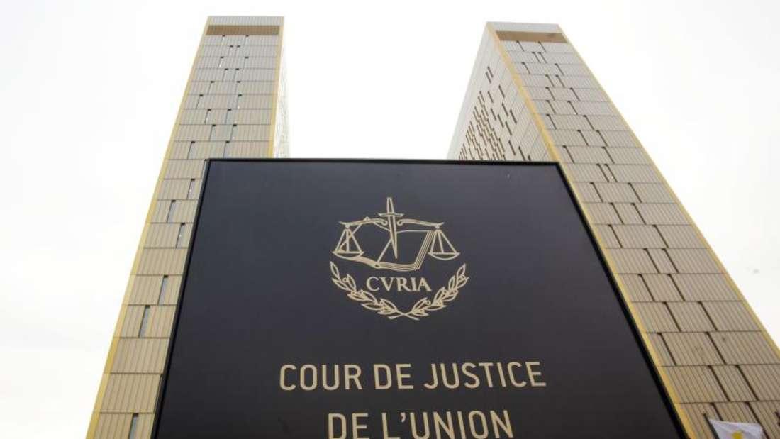 Der Europäische Gerichtshof in Luxemburg. Foto: Thomas Frey