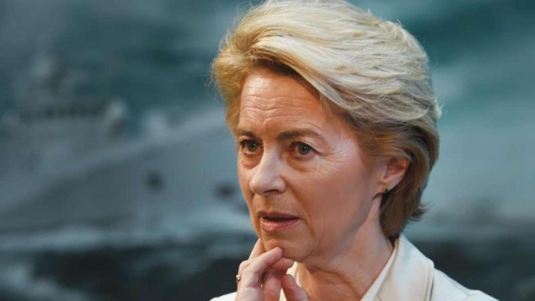 Verteidigungsministerin Ursula von der Leyen (CDU). Foto: Stefan Sauer