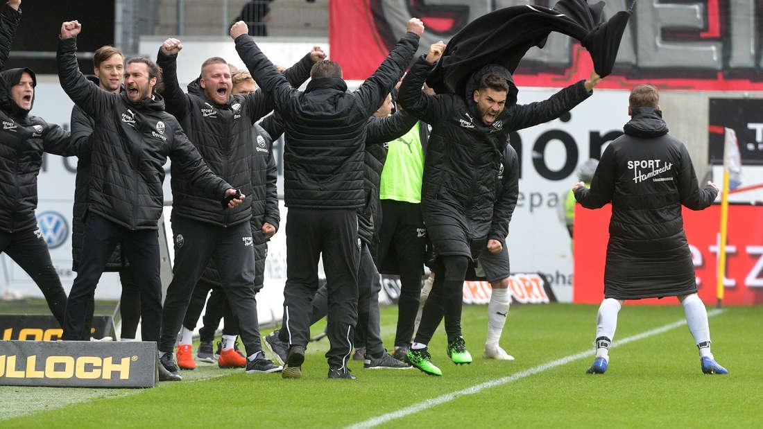 Der SV Sandhausen empfängt am Sonntag Arminia Bielefeld.