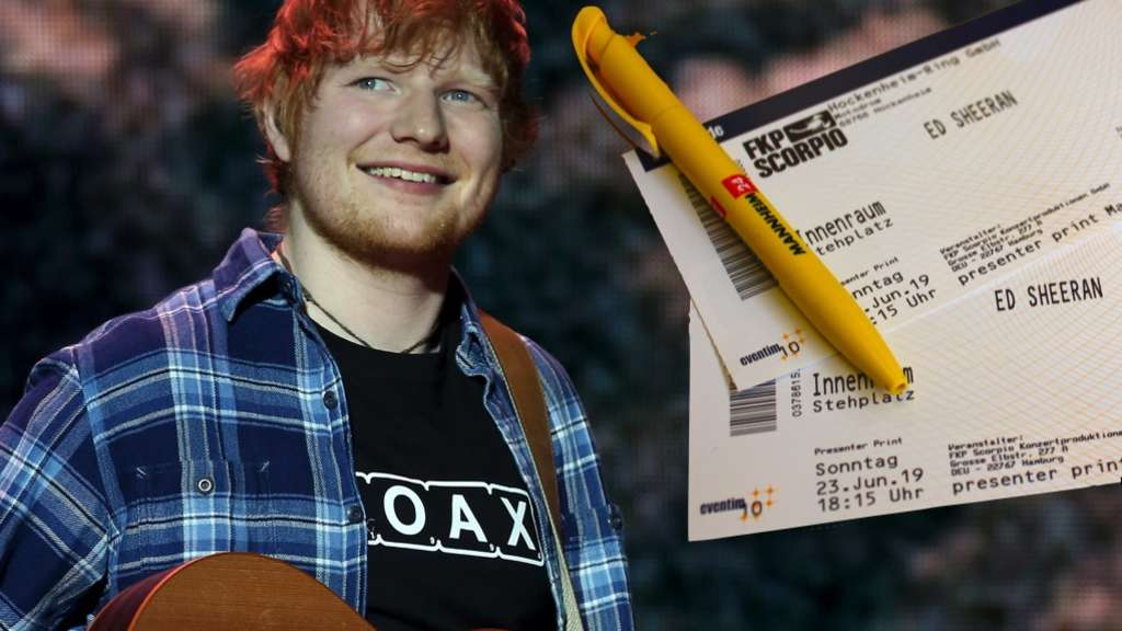 Hockenheimring Konzert Ed Sheeran