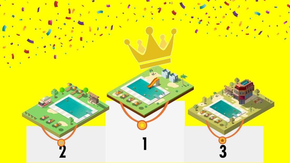 Welches Freibad gewinnt das große Battle?