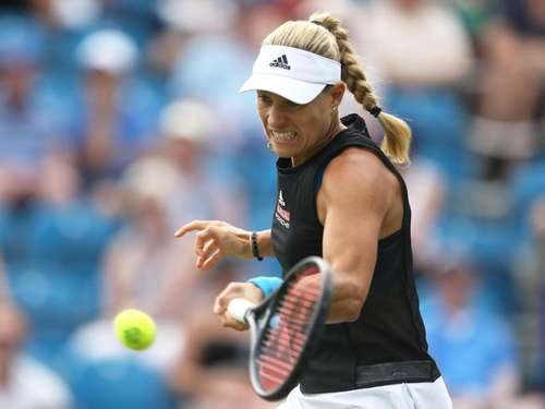 Angelique Kerber in Eastbourne im Achtelfinale
