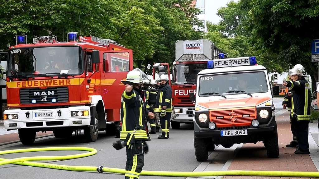 Brand in Lampertheim