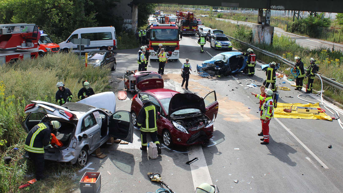 Der Unfallort in Dortmund.