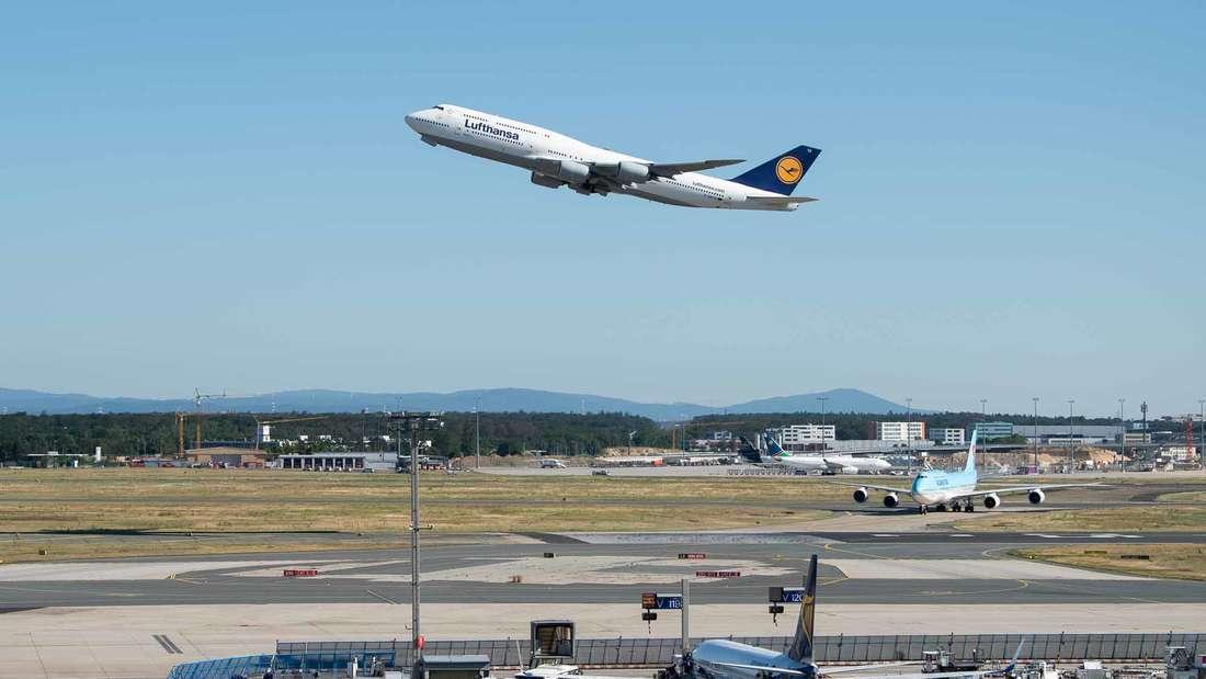 Eine Boeing 747-400 musste am Sonntagabend kurz nach dem Start wieder umkehren.