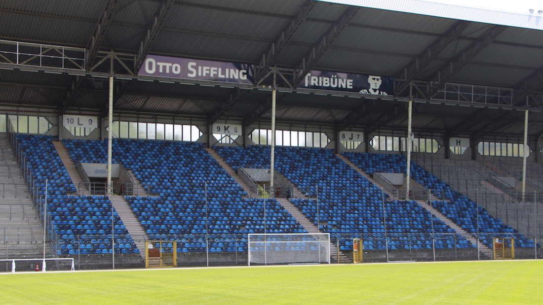Das Carl-Benz-Stadion in Mannheim ist im Stadion-Ranking auf Rang 20 gelandet.