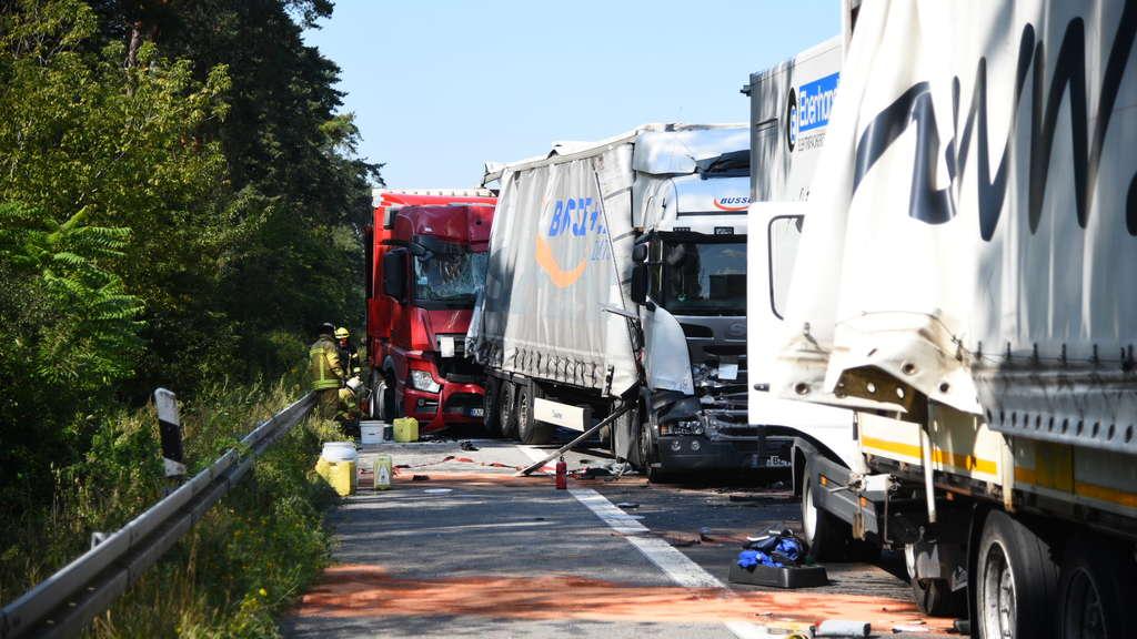A6 Mannheim Unfall