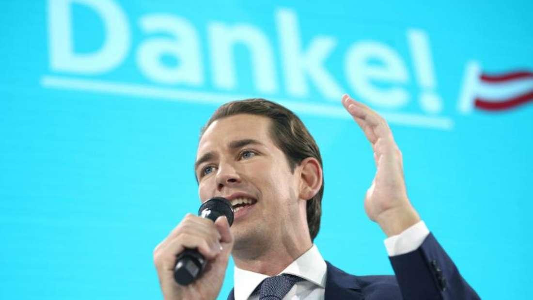 Setzte sich bei der Nationalratswahl klar durch:Sebastian Kurz. Foto:Georg Hochmuth/APA