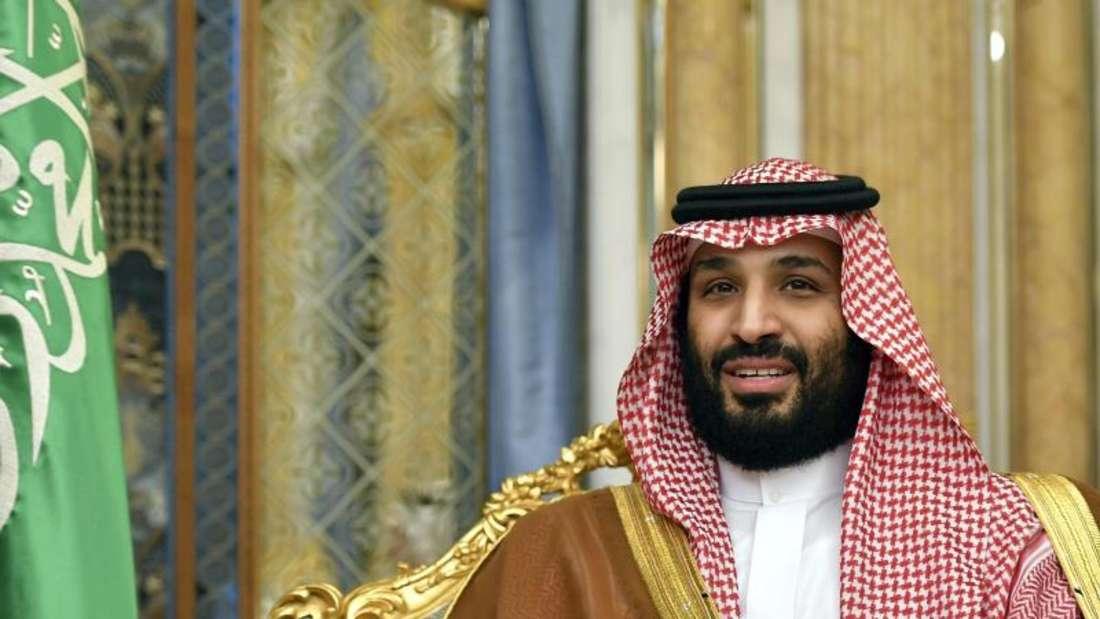 Mohammed bin Salman, Kronprinz von Saudi-Arabien, warnt vor einer weiteren Eskalation im Konflikt mit dem Iran. Foto:Manel Ngan/AFP/AP