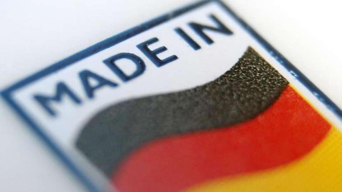 Ein Logo mit der Aufschrift «Made in Germany». Foto:Karl-Josef Hildenbrand