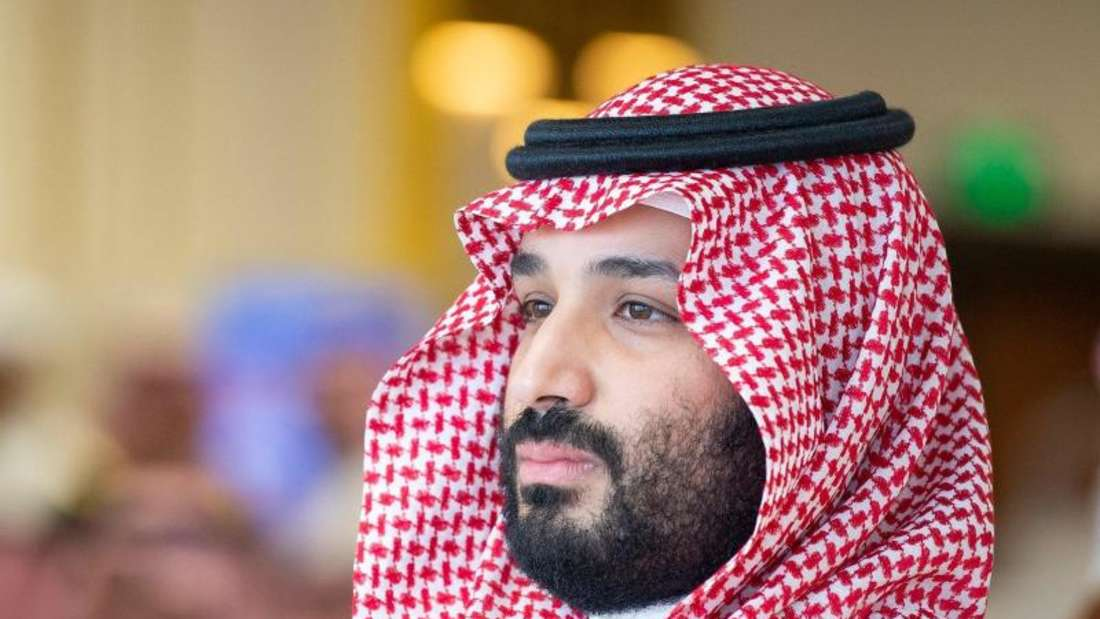 «Das war ein abscheuliches Verbrechen»: Mohammed bin Salman. Foto: Saudi Press Agency