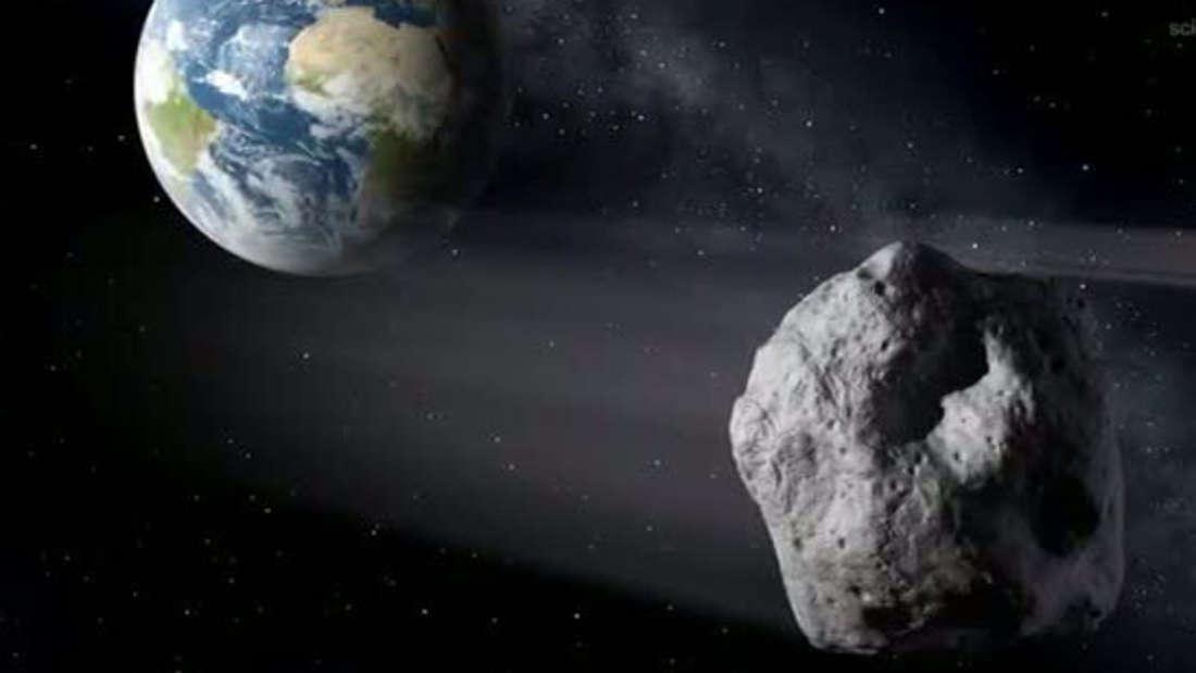 Der Asteroid 2000 QW7 fliegt an der Erde vorbei - allerdings mit großem Abstand. (Symbolbild)