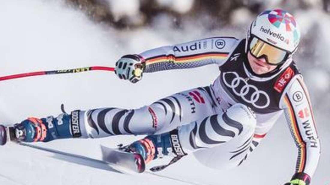 Viktoria Rebensburg geht als große deutsche Hoffnungsträgerin in die neue Saison.