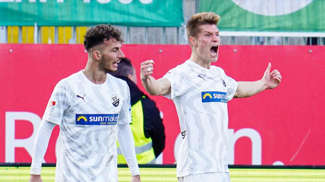 SV Sandhausen - SpVgg Greuther F¸rth