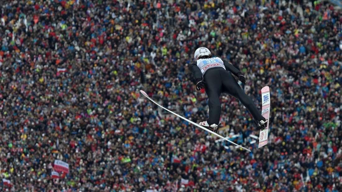 Vierschanzentournee: Daniel-Andre Tande beim Neujahrsspringen in Garmisch-Partenkirchen.