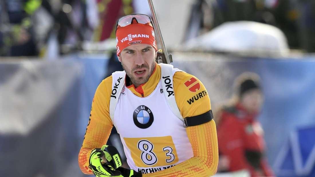 Biathlon: Arnd Peiffer will seinen Aufwärtstrend in Annecy fortsetzen.