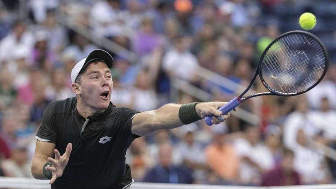 Spielte sich bei den US Open bis ins Achtelfinale: Dominik Koepfer. Foto: Javier Rojas/Pi/Prensa Internacional via ZUMA/dpa