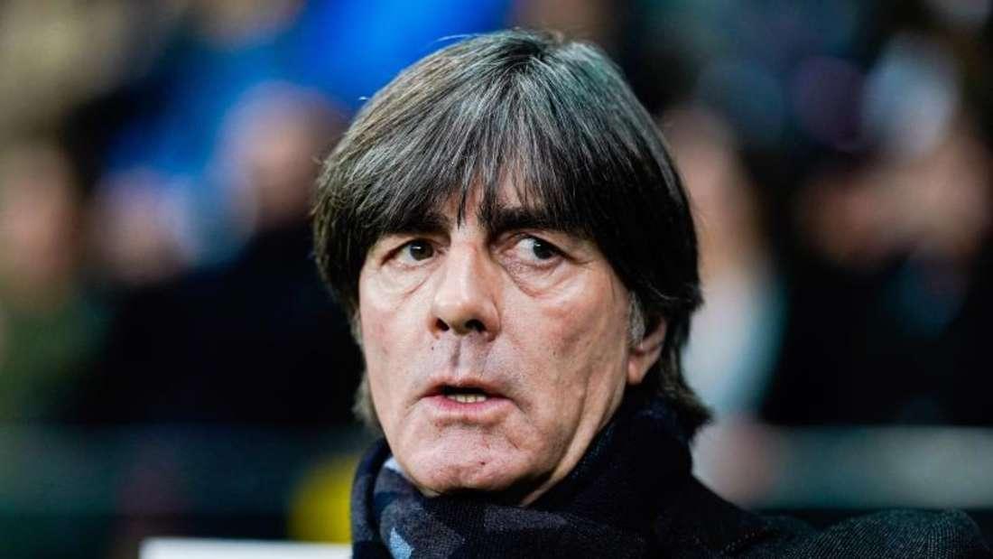 Sortierte Anfang März drei 2014-Weltmeister aus: Bundestrainer Joachim Löw. Foto: Uwe Anspach/dpa