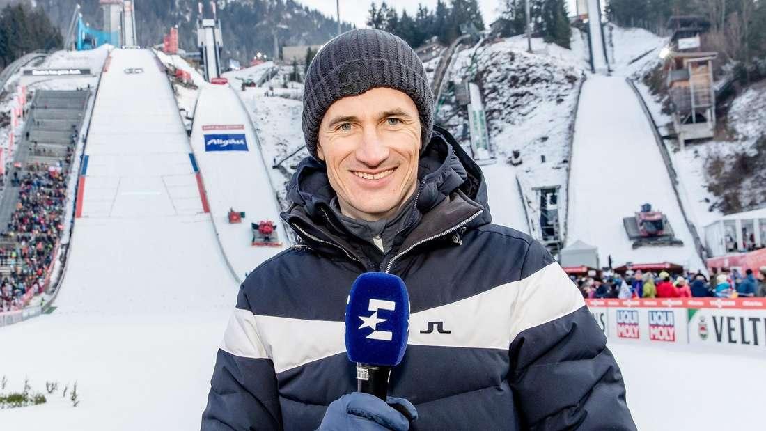 Skispringen: Martin Schmitt ist als TV-Experte für Eurosport bei allen Events der Vierschanzentournee mit dabei.