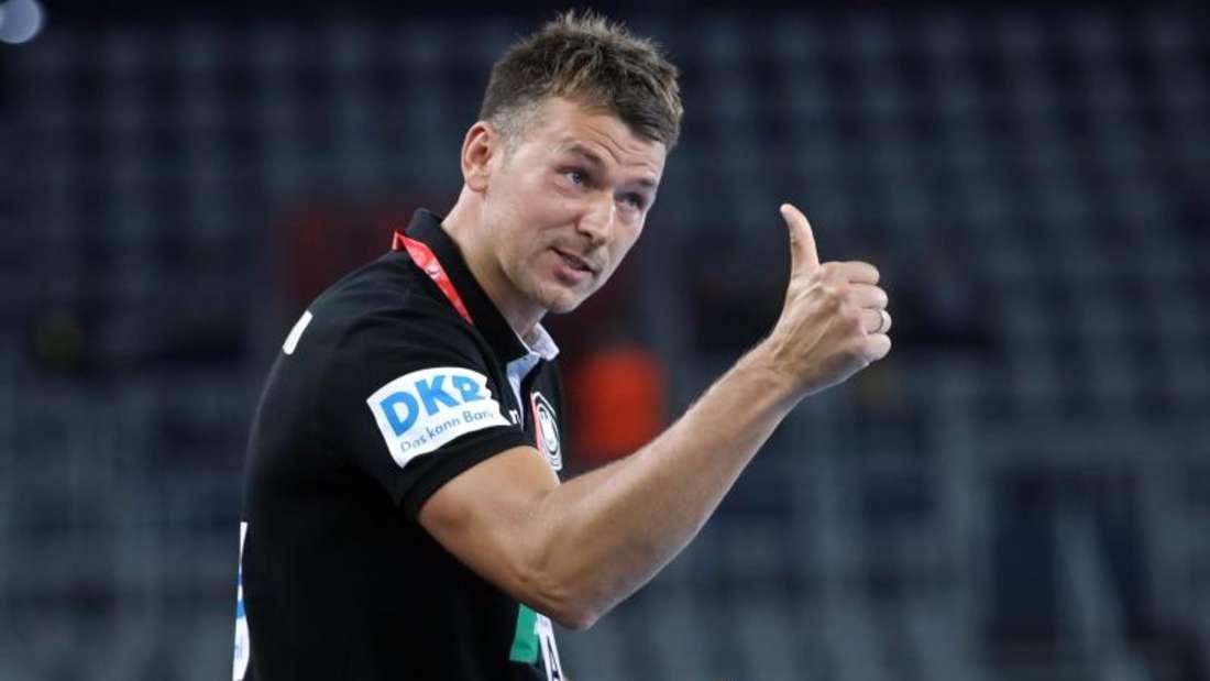 Will mit Deutschlands Handballern eine gute EM abliefern: Bundestrainer Christian Prokop. Foto: Damir SENCAR/HINA/dpa