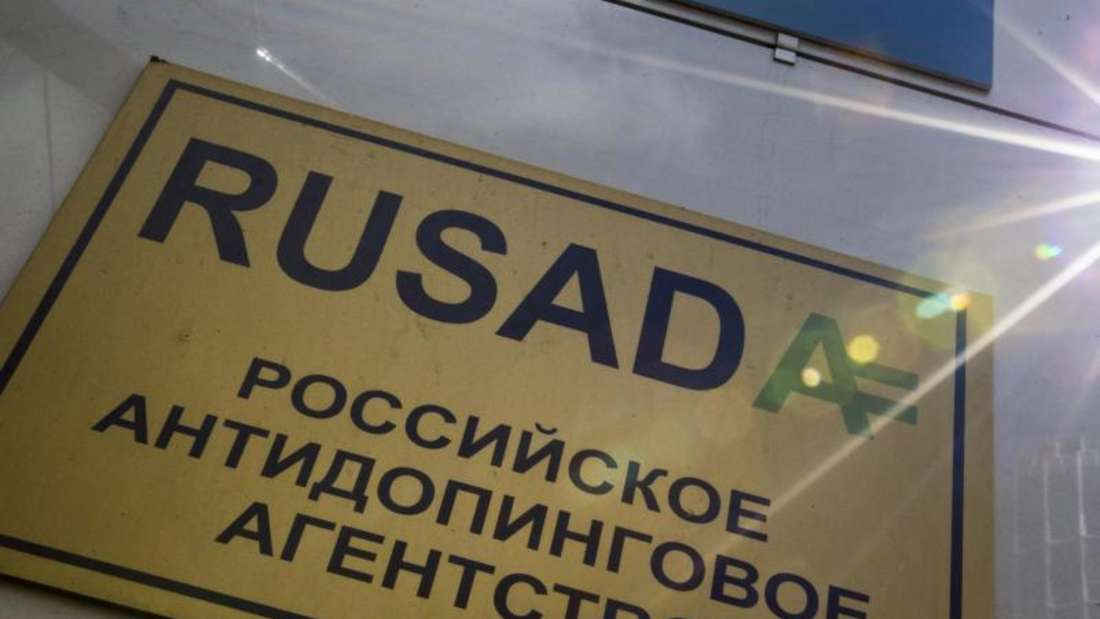 Die Rusada geht zieht wegen der Olympiasperre vor den Cas. Foto: Alexander Zemlianichenko/AP/dpa