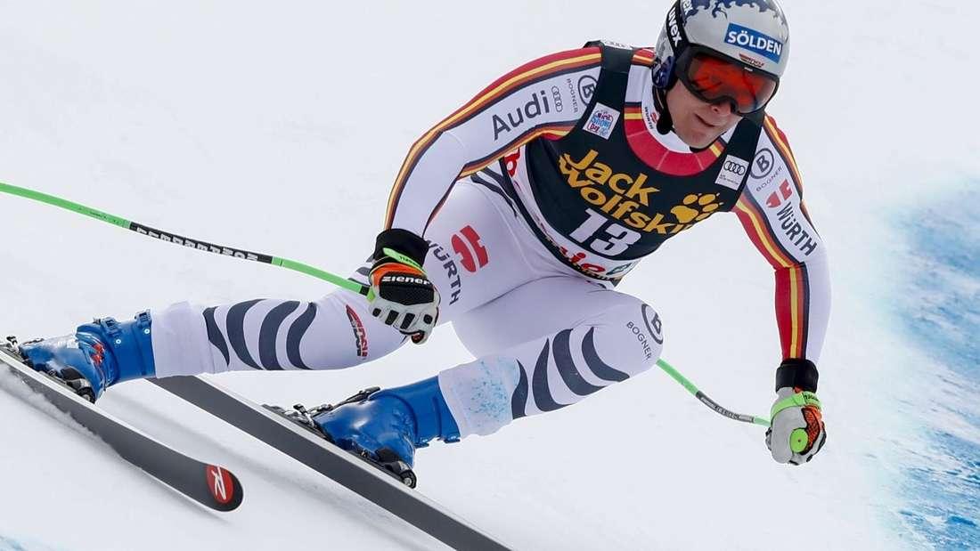 Ski alpin: Thomas Dreßen auf der Piste in Bormio.