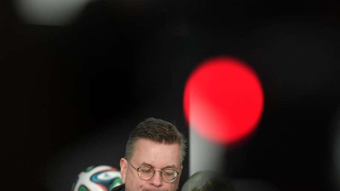 ReinhardGrindel trat Anfang April mit sofortigerWirkung von seinemAmt als DFB-Präsidentzurück. Foto: Boris Roessler/dpa