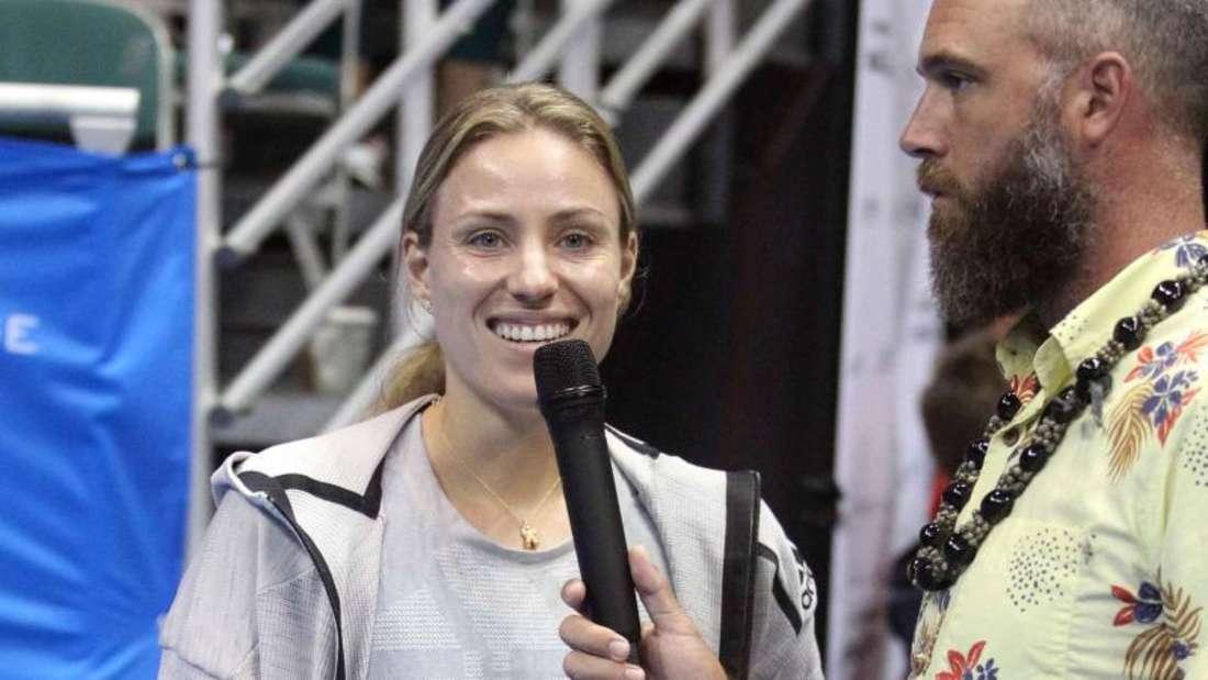 Angelique Kerber musste ihre Finalteilnahme auf Hawaii kurzfristig absagen. Foto: Michael Sullivan/CSM via ZUMA Wire/dpa