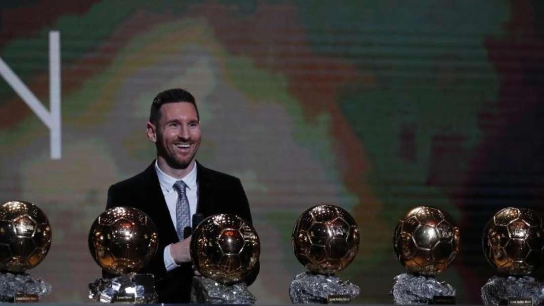 Zum sechsten Mal Weltfußballer der Jahres: Lionel Messi. Foto: Francois Mori/AP/dpa