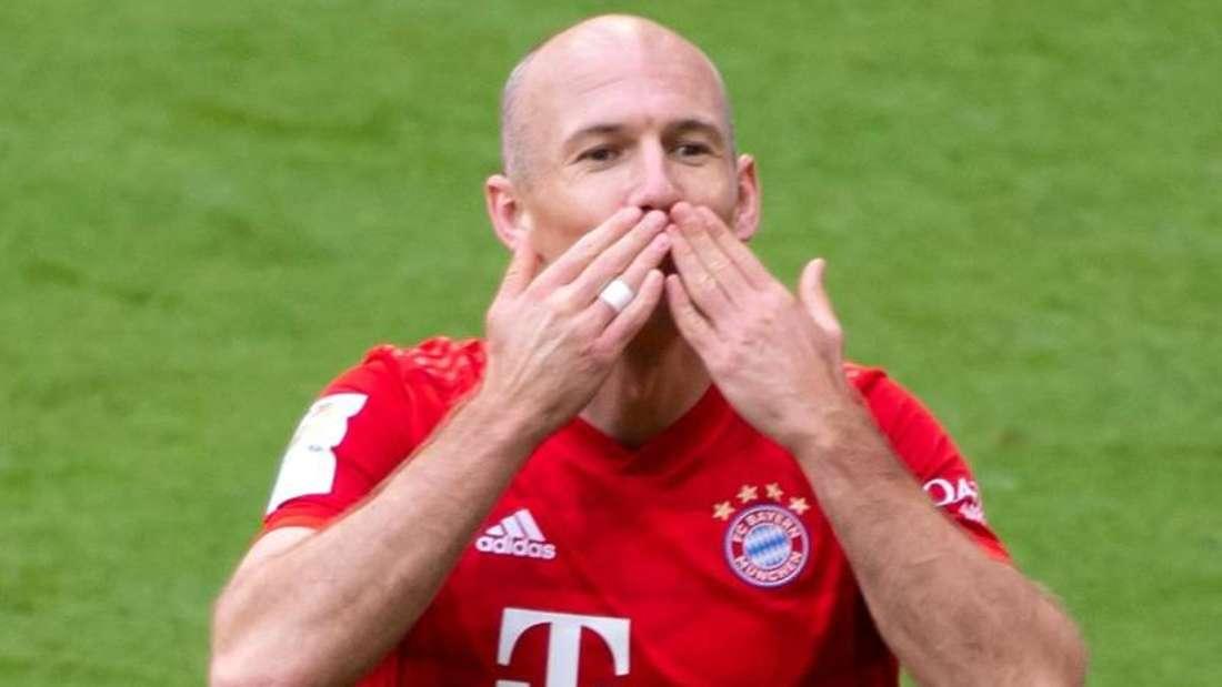 Bayern-Star Arjen Robben beendete im Juli seine Profikarriere. Foto: Sven Hoppe/dpa