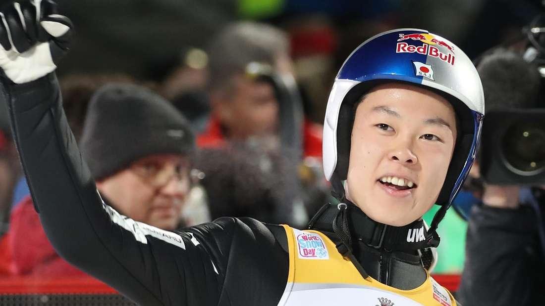 Springen in Oberstdorf: Ryoyu Kobayashi feierte seinen fünften Sieg in Folge bei der Vierschanzentournee