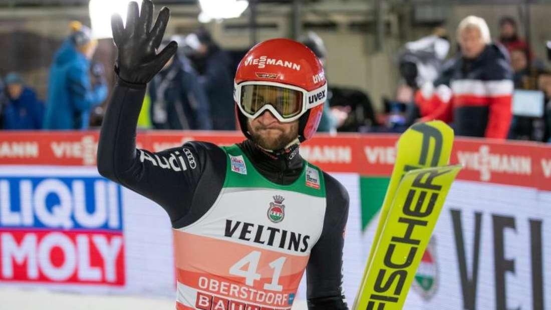 Markus Eisenbichler war im vergangenen Jahr Gesamt-Zweiter der Vierschanzentournee. Foto: Daniel Karmann/dpa